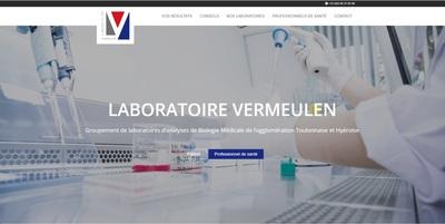 Nouveau site internet pour les Laboratoires Vermeulen